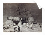 'Pandora' nipped in the ice, Melville Bay 24th July by English School