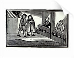 Man and Woman in the Stocks by English School