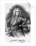 George Frederick Handel by Thomas Hudson