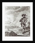 Captain Henry Morgan at the sack of Panama in 1671 by Thomas Nicholls
