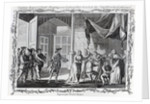 Captain Rogers' People stripping some Ladies of their Jewels in the Neighbourhood of Guiaquil by English School
