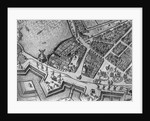 Map of Hamburg showing its first Opera House by German School