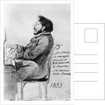 Mikhail Glinka by Russian School