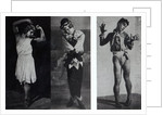 Vaslav Nijinsky in the role of Narcisse, Petrouchka and Till Eulenspiegl by French Photographer