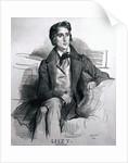 Portrait of Franz Liszt by Achille Deveria
