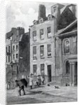 House of Sir Isaac Newton at 35 St Martin's Street, Leicester Square, London by John Wykeham Archer