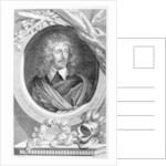 Sir John Suckling, engraved by George Vertue by Sir Anthony van Dyck