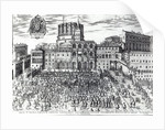 The Benediction of Pope Pius V in St.Peter's Square by Italian School