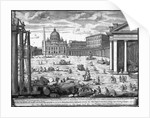 View of St. Peter's, Rome by Giovanni Battista Piranesi