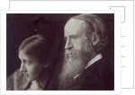 Virginia Woolf and her father Sir Leslie Stephen by English Photographer