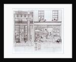 The Quadrant, Regent Street and Golden Lane, London by George the Elder Scharf