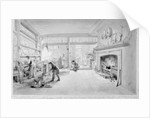 The Kitchen of Mr. Sander's Coffee and Eating House, Newgate Street by George the Elder Scharf