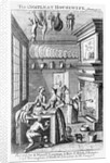 Frontispiece of 'The Compleat Housewife' by English School