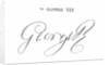 Signature of King George III by English School
