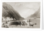 Rosstrevor Pier, County Down by William Henry Bartlett