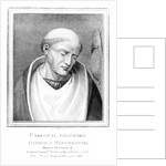 Cardinal Henry Beaufort, Bishop of Winchester by English School