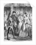 The Arrest of Caroline Matilda, Queen of Denmark and Norway in 1772 by English School