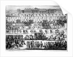King George I procession to St. James's Palace by English School