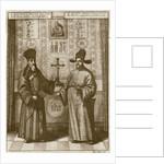 Matteo Ricci and Paulus Li by Dutch School