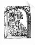 Portrait of John of Indagine by German School