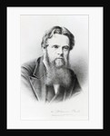 William Holman Hunt, engraving after a photograph by English Photographer