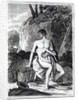 Mungo Park in Africa, an illustration from 'Travels in the interior districts of Africa: performed in the years 1795, 1796, and 1797' by English School
