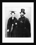 Arthur Munby and his father by English Photographer