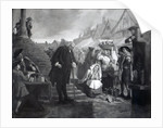 Dr. Johnson doing penance in the market place of Uttoxeter by Eyre Crowe