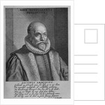 Jacobus Arminius by Dutch School