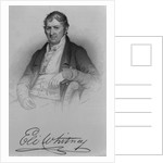 Eli Whitney by Charles Bird King