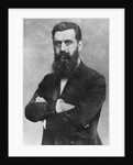 Theodor Herzl by Austrian Photographer