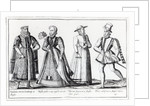 Fashion during the Tudor Period by French School