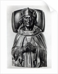 Effigy of Henry VII in Westminster Abbey by Pietro Torrigiano