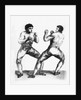 Boxing Match Between Daniel Mendoza and Richard Humphreys by Charles Reuben Ryley