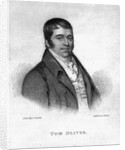 Tom Oliver, engraved by Percy Roberts by George Sharples