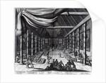 The Royal Banquet by Dutch School