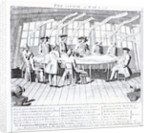 The Council of War in 1756 by English School