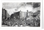 An exact representation of the Burning, Plundering and Destruction of Newgate by the Rioters on the memorable 7th June 1780 by Jefferyes Hamett O'Neale