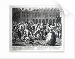 He and His Drunken Companions Raise a Riot in Covent Garden by English School