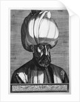 Suleiman the Magnificen by Melchior Lorck