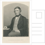 Sir George Cornewall Lewis by from 'The Drawing-Room of Eminent Personages