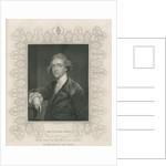 Sir William Jones from 'Gallery of Portraits' by Sir Joshua Reynolds