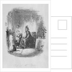 Paul and Mrs. Pipchin by Hablot Knight Browne