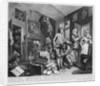 The Young Heir Takes Possession of the Miser's Effects, plate I from 'A Rake's Progress' by William Hogarth