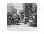 First Design for The Enraged Musician by William Hogarth