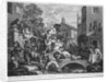 The Election, Chairing the Member by William Hogarth