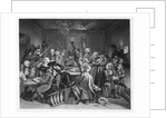 Scene in a Gaming House by William Hogarth