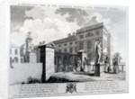 A perspective view of the Foundling Hospital, engraved by Edward Rooker by Samuel Wale