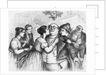 'It was a pleasant thing to see Mr. Pickwick in the centre of the group' by English School