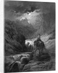The Moonlight Ride by Gustave Dore